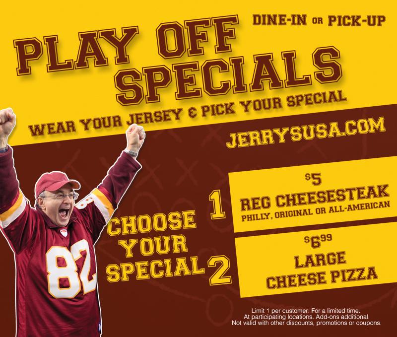 Jerry's subs deals