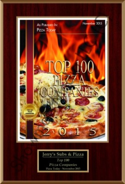 Jerry's Subs & Pizza Top 100 Pizza Companies 2015