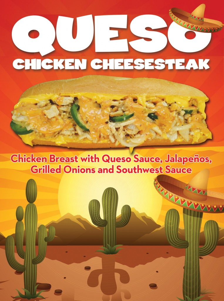 Queso Chicken Cheesesteak