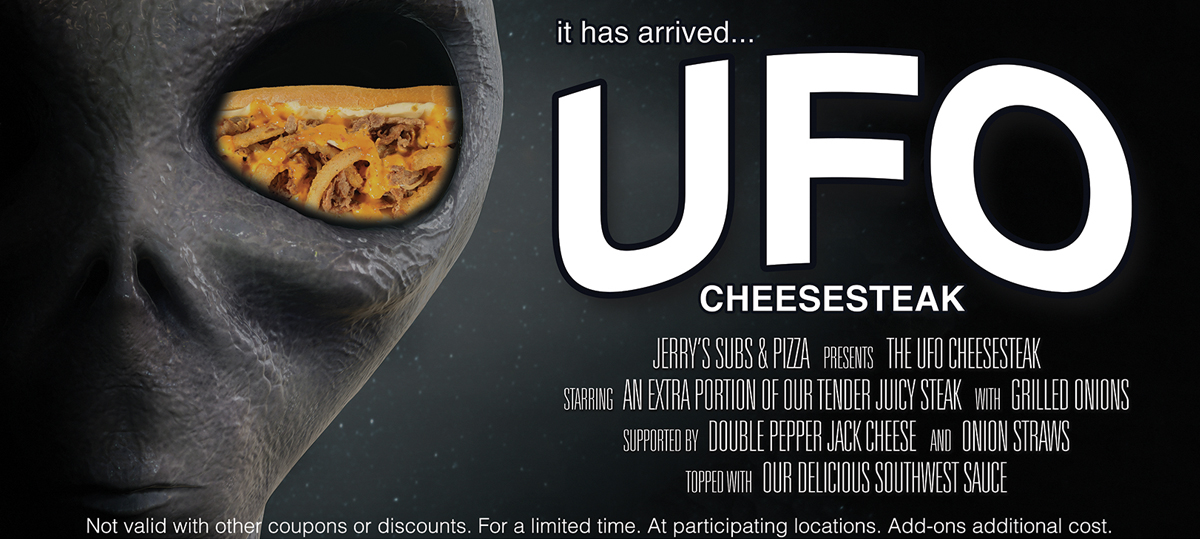 UFO Secret Banner
